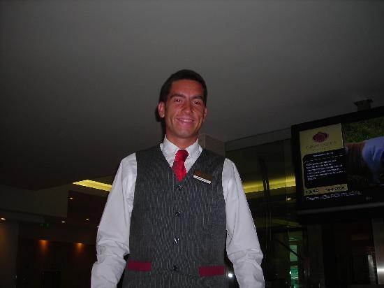 Turim Iberia Hotel: vitor the very good reception person