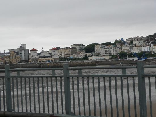 Weston-super-Mare, UK: View from the pier