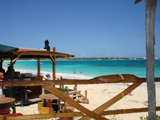 Dune Preserve restaurant overlooking Rendezvous Bay