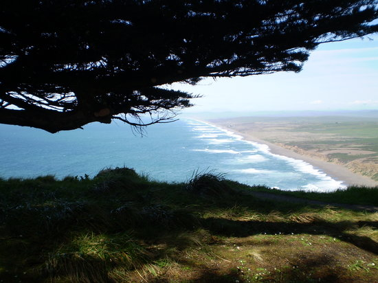 Point Reyes Station, Californië: another view from the lighthouse