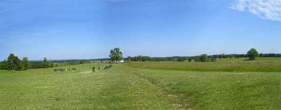 Manassas, VA: A panoramic picture I took.