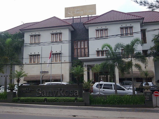 New Sany Rosa Hotel: front view