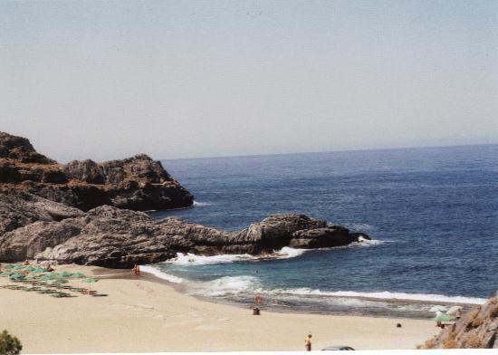 Costas & Chrysoula: Ammoudi beach