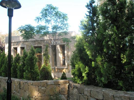 Sani Asterias : the tiny reception-lobby of asterias