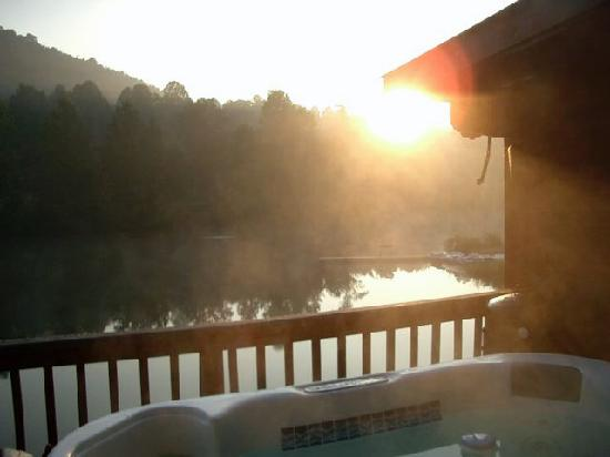 Asheville Cabin Rentals: Sunset...