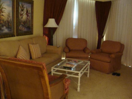 Marriott's Royal Palms: Living room