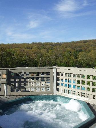 Wintergreen Resort: Hot tub view