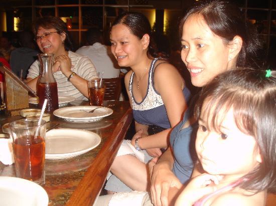 Arirang Hibachi Steakhouse & Sushi Bar: while watching how he cook