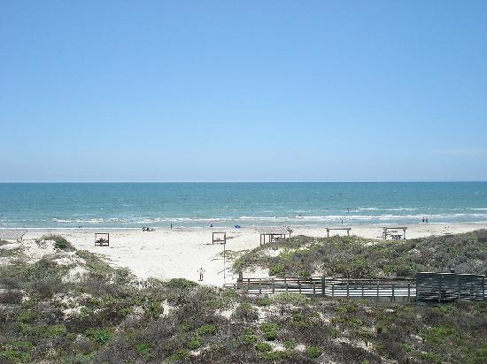 Padre Island National Seashore: View from the visitor's center.