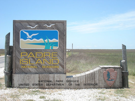 Padre Island National Seashore: Park entrance