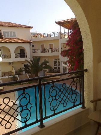 Kokkinos Pirgos, Greece: view from my balcony
