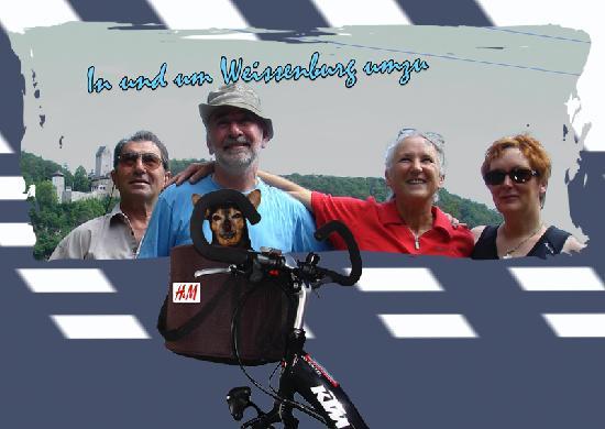 Weissenburg in Bayern, Tyskland: Schöne Lanschaft, mit sehr schönen Radtouren.