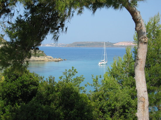 Lassi, Greece: View towards Lixouri