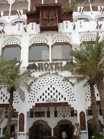 Ghani Palace Hotel: Front Entrance
