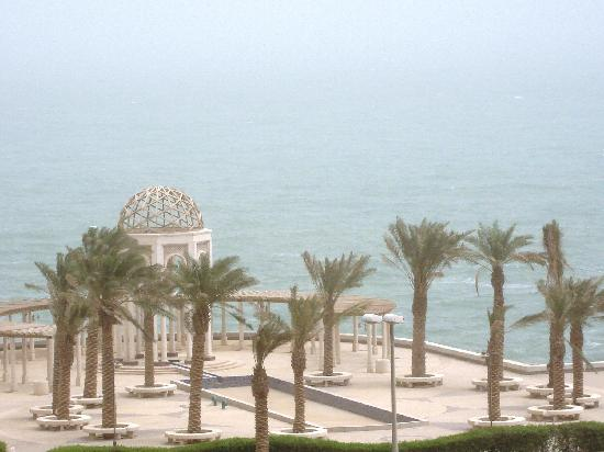 Ghani Palace Hotel: sea view from balcony
