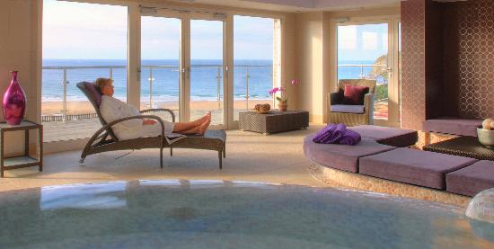 Bedruthan Hotel & Spa: Hydro and relaxation area