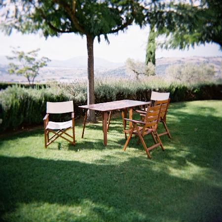 Agriturismo Le Colombe: The gardens offer plenty of space to relx