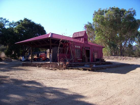 a reel wester set picture of paramount ranch agoura