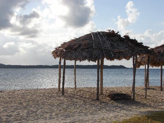 Kuna Niskua Lodge : playa el porvenir