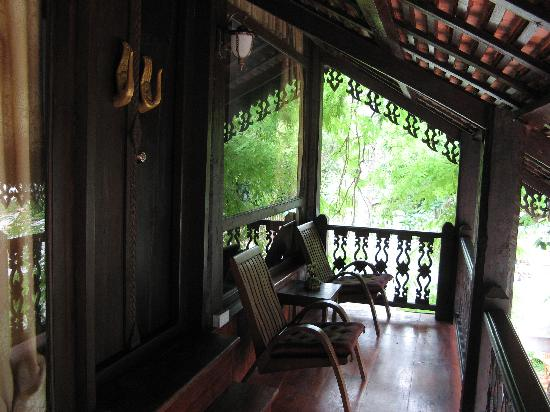 Ramayana Boutique Hotel: Unit C1 with enchanted balcony that has lots of privacy