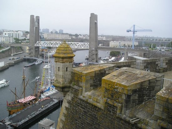 Brest, Frankrike: the port