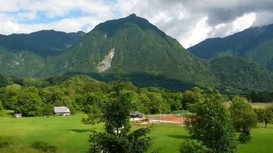 Hotel Kanin: view from balcony