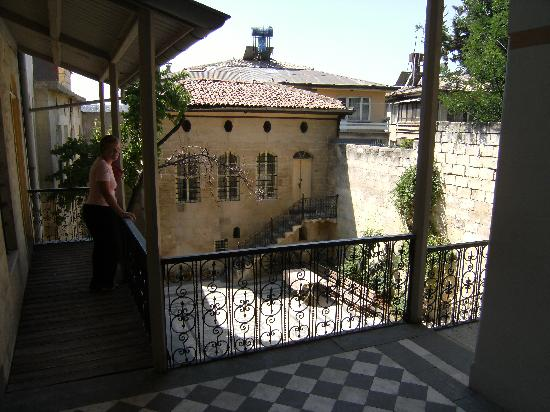 Hasan Suzer Ethnography Museum: View of the interior Courtyard