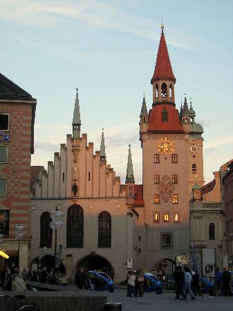 Munich, Germany: The Altes Rathaus on the Marienplatz