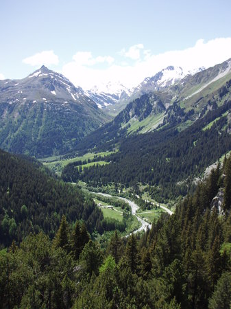 Cadenabbia di Griante, İtalya: In the Swiss Mountains