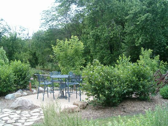 TimberCreek Bed & Breakfast: a view outside the breakfast room
