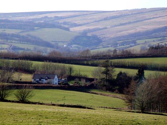 Stunning location of Little Brendon Hill Farm