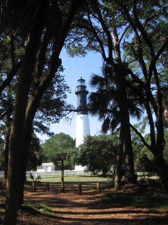 Beaufort, Carolina Selatan: Huntington Island Lighthouse