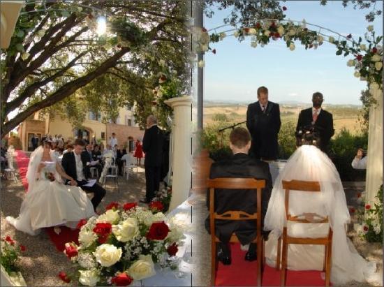 Villa Curina: wedding at the villa
