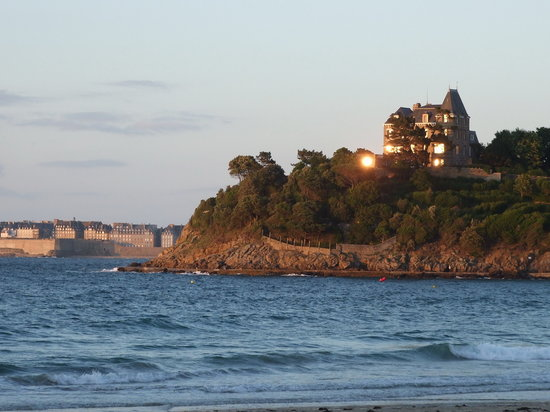 View of St. Malo from Dinard