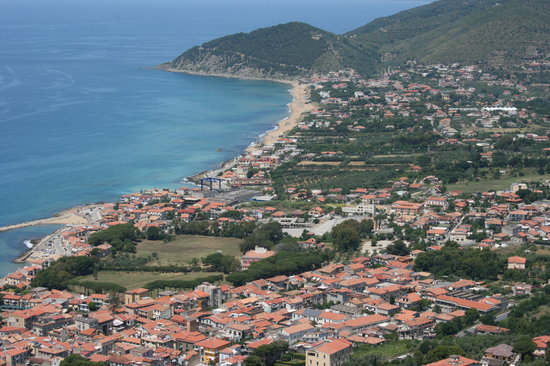 Castellabate, Italie : The view