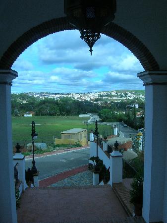 Cazalla de la Sierra, España: vistas desde el hotel