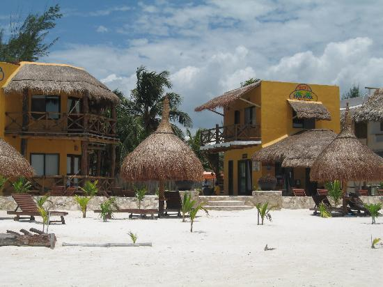 Holbox Dream Beach Front Hotel by Xperience Hotels: Hotel Holbox Dream Facade