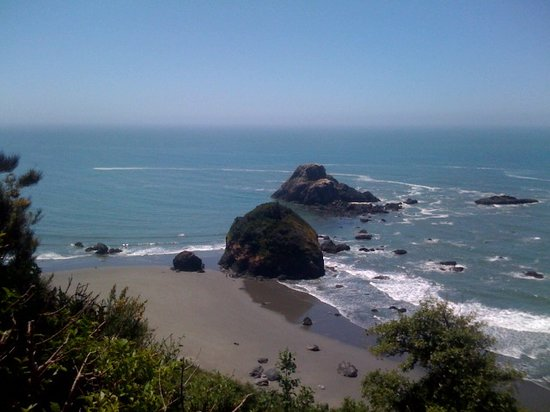 Westhaven-Moonstone, CA: Camel Rock View from the Bluffs