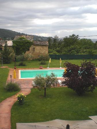 Villa Paolotti: Back Yard from Upper Terrace