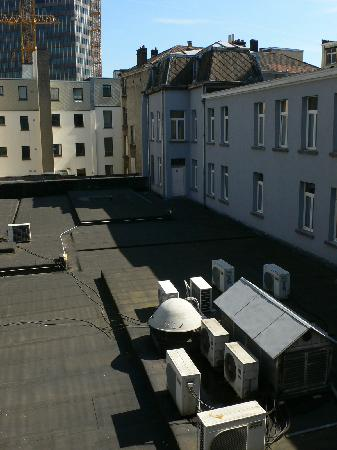 view from our room picture of hotel saint nicolas brussels rh tripadvisor co uk