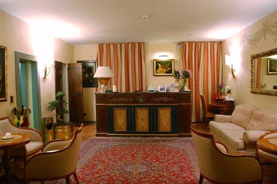 Hotel Davanzati : The hotel's lovely lobby