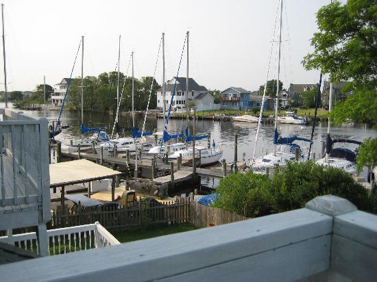 Inn at Rivers Edge Marina: view from the deck