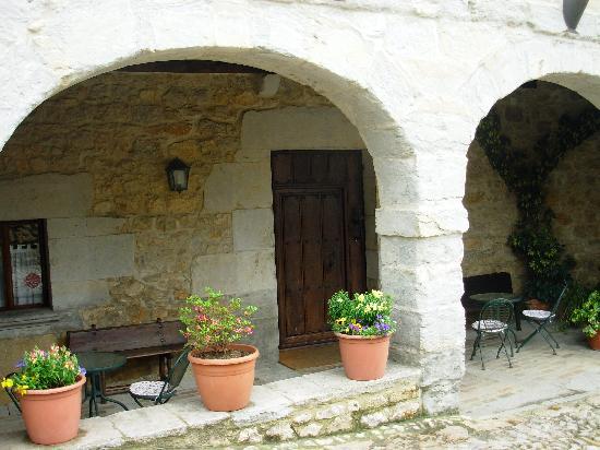 La Casa del Organista: Front Door of Casa del Organista