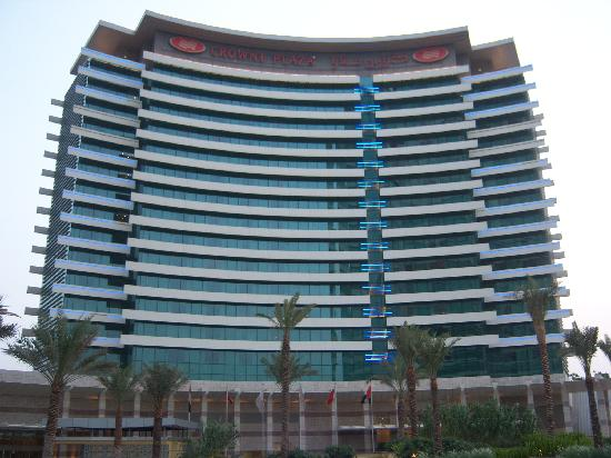 Crowne Plaza Dubai Festival City: View of the hotel from outside