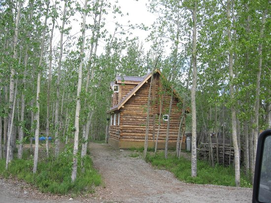 Wiseman, AK: Outside the property