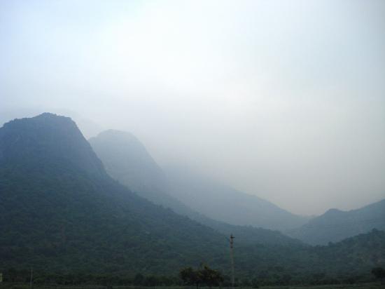 Tamil Nadu, India: Hill view 2