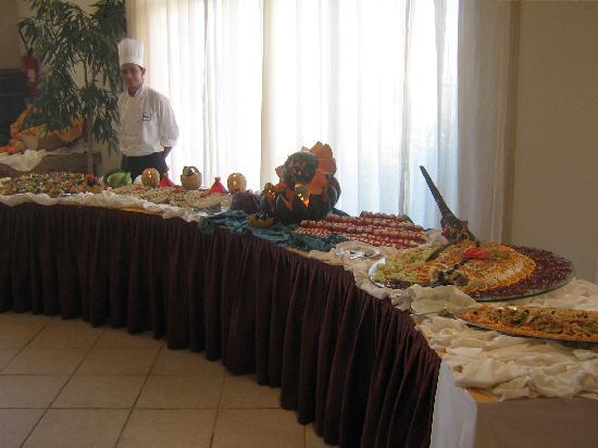 Cap-Bon Kelibia Beach Hotel & Spa: ristorante
