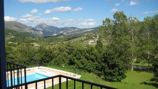 Hotel Le Panoramic: Aussicht auf die Französichen Alpen