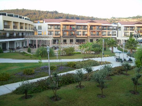 Aqua Fantasy Aquapark Hotel & SPA: View from our room