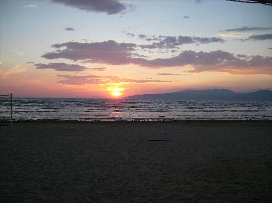 Aqua Fantasy Aquapark Hotel & SPA: Gorgeous sunsets on the beach